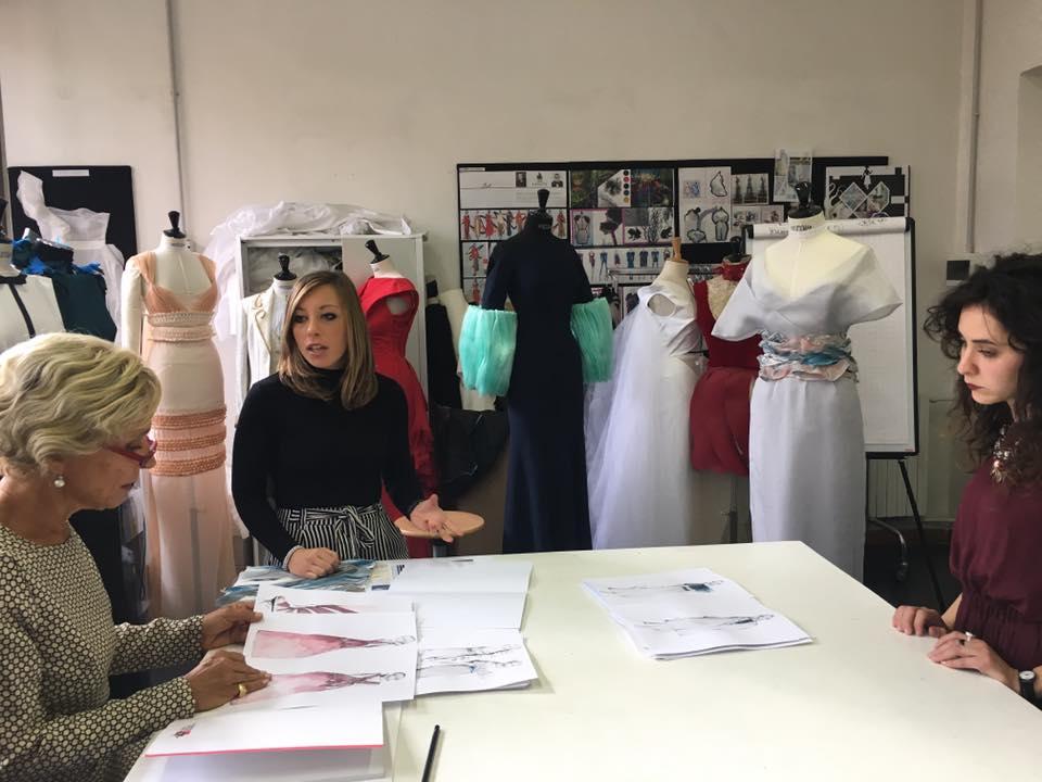 Master de la alta costura dise o de moda roma italia 2017 - Diseno alta costura ...