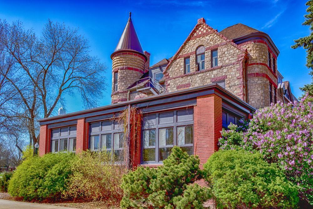East Hall At University of South Dakota. Historical Architecture History