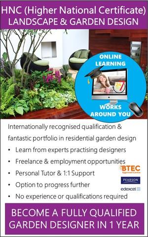 Garden Landscaping Design - Accredited Diploma Course (Online)