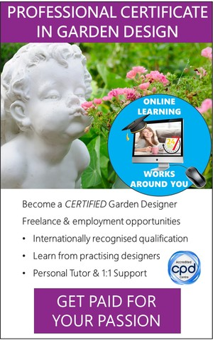 Garden Design Course (Online)-Become a Certified Garden Designer