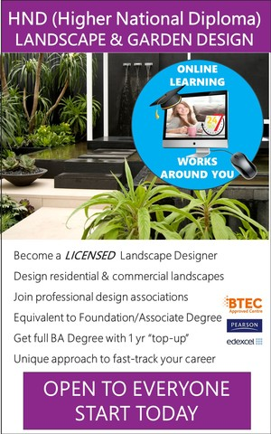 Landscape Design - HND / Associate Degree Course (Online)