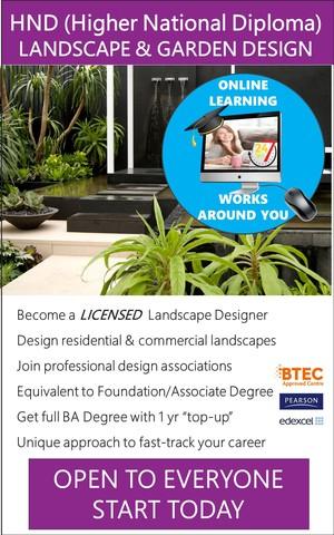 Landscape Design - HND / Associate Degree Course (Online ...