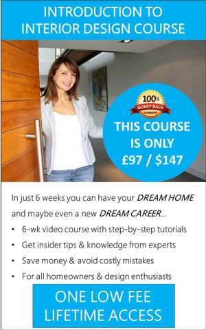 Interior Design Classes - Online video classes. Lifetime Access 24/7