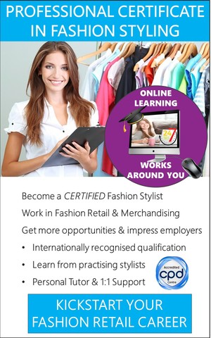Fashion Stylist - Accredited Certificate Course (Online)