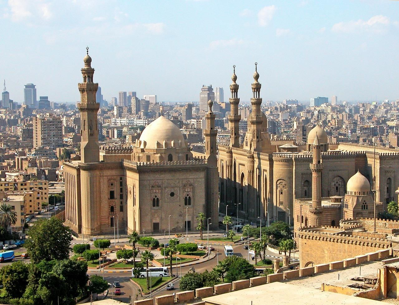 cairo, mosque, egypt