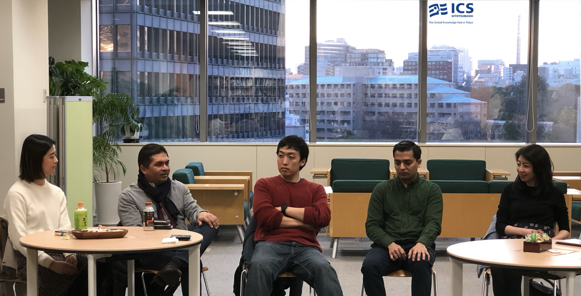 HitotsubashiICS_Graduates_CareerSession