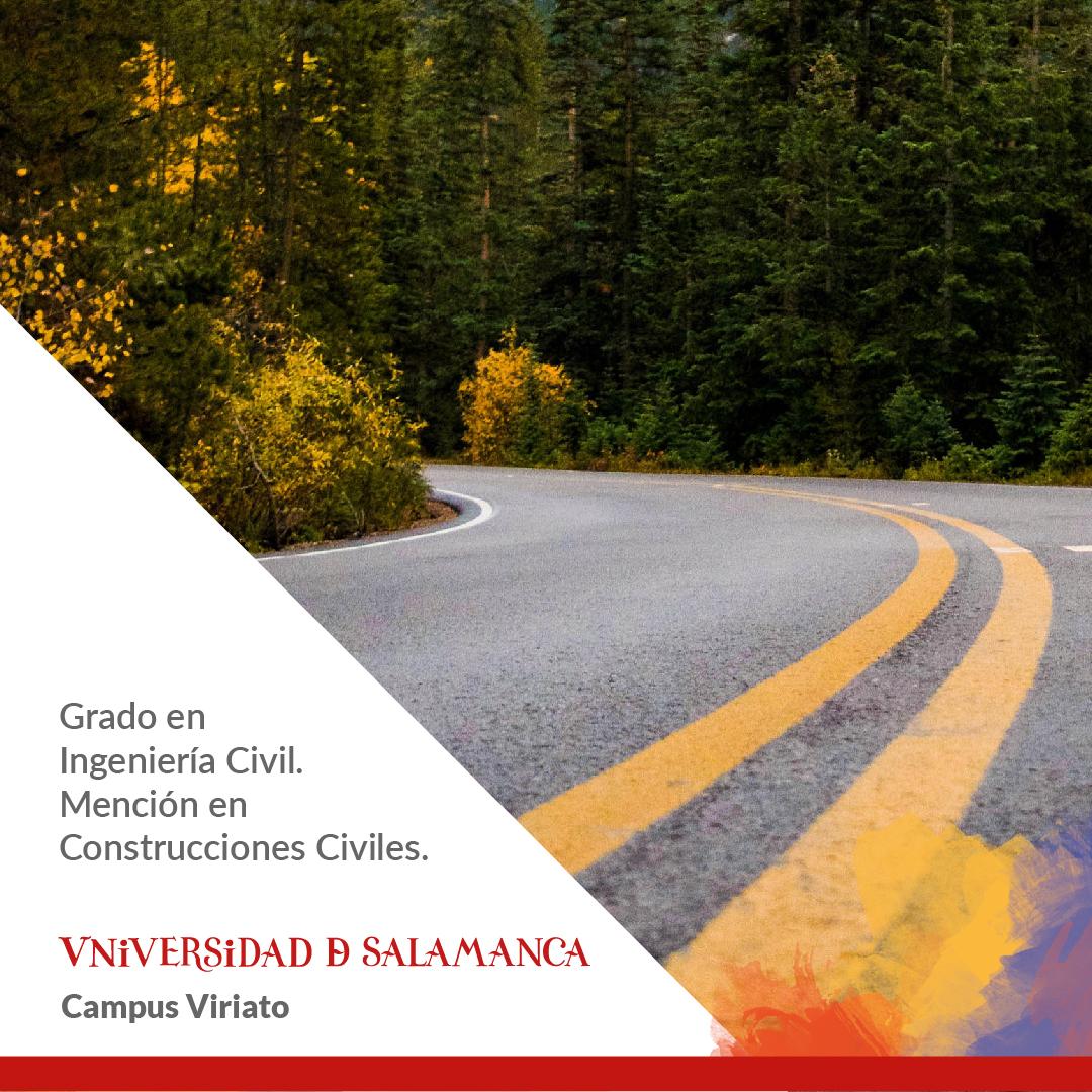 Grado En Ingeniería Civil Mención En Construcciones Civiles E P S De Zamora Salamanca España 2020