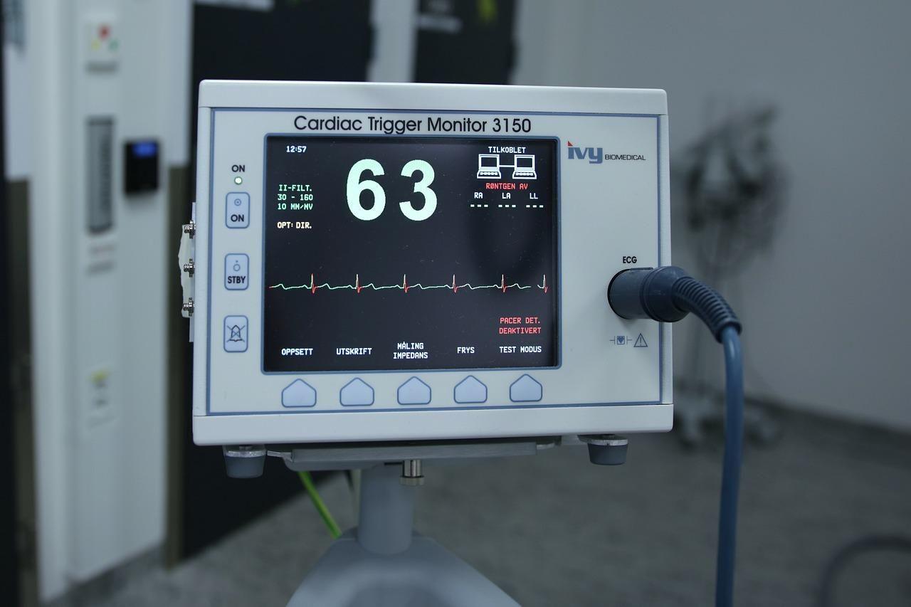 equipment, hospital, ecg