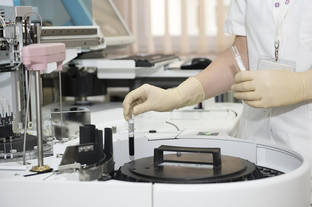 medic, hospital, laboratory