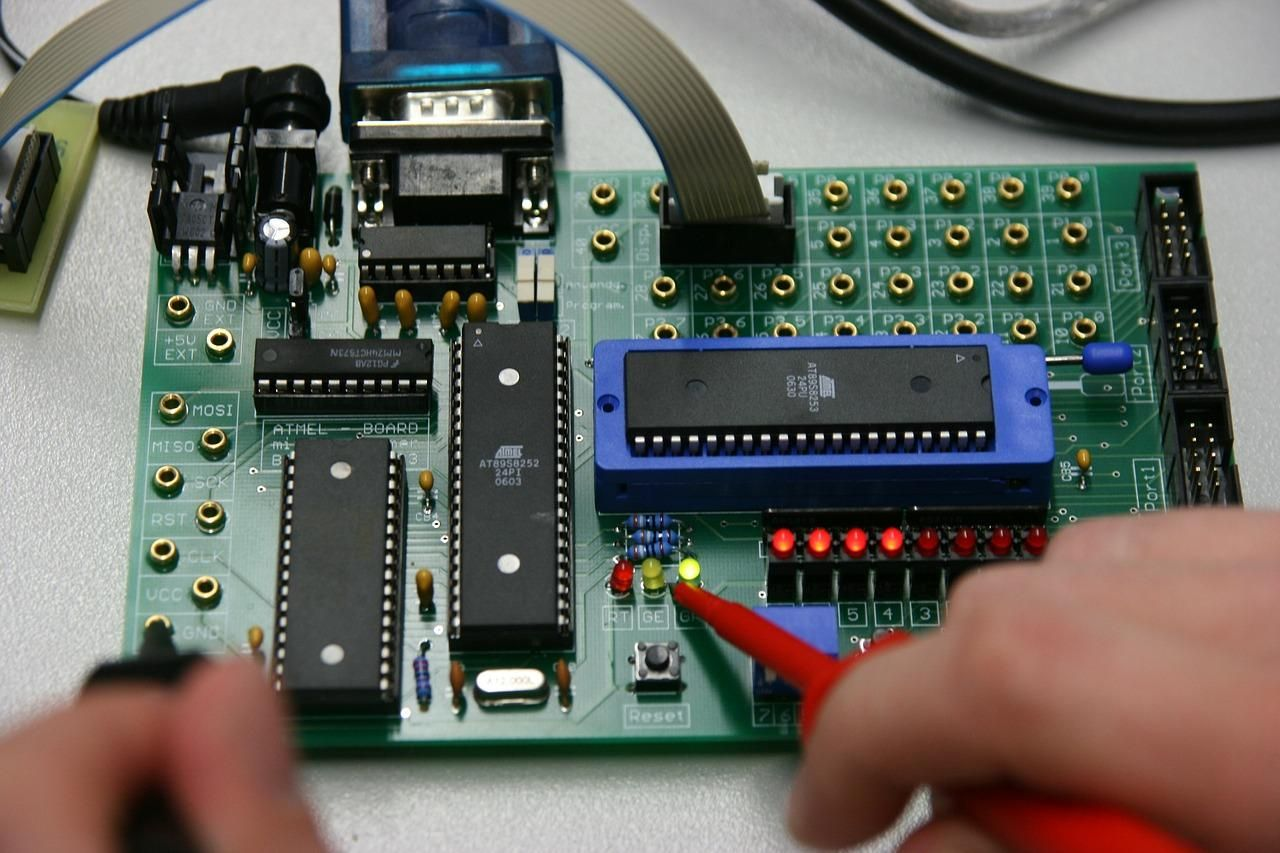 board, electronics, computer