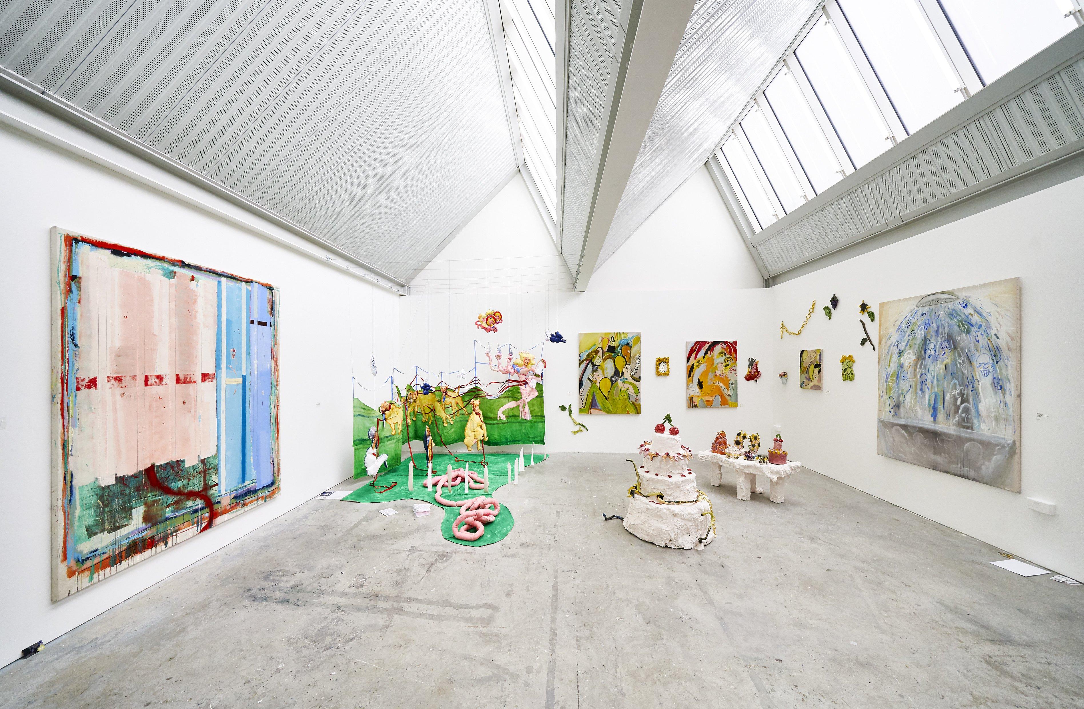 Painting 2019 Jhonatan Pulido, Elise Broadway, Yulia Iosilzon