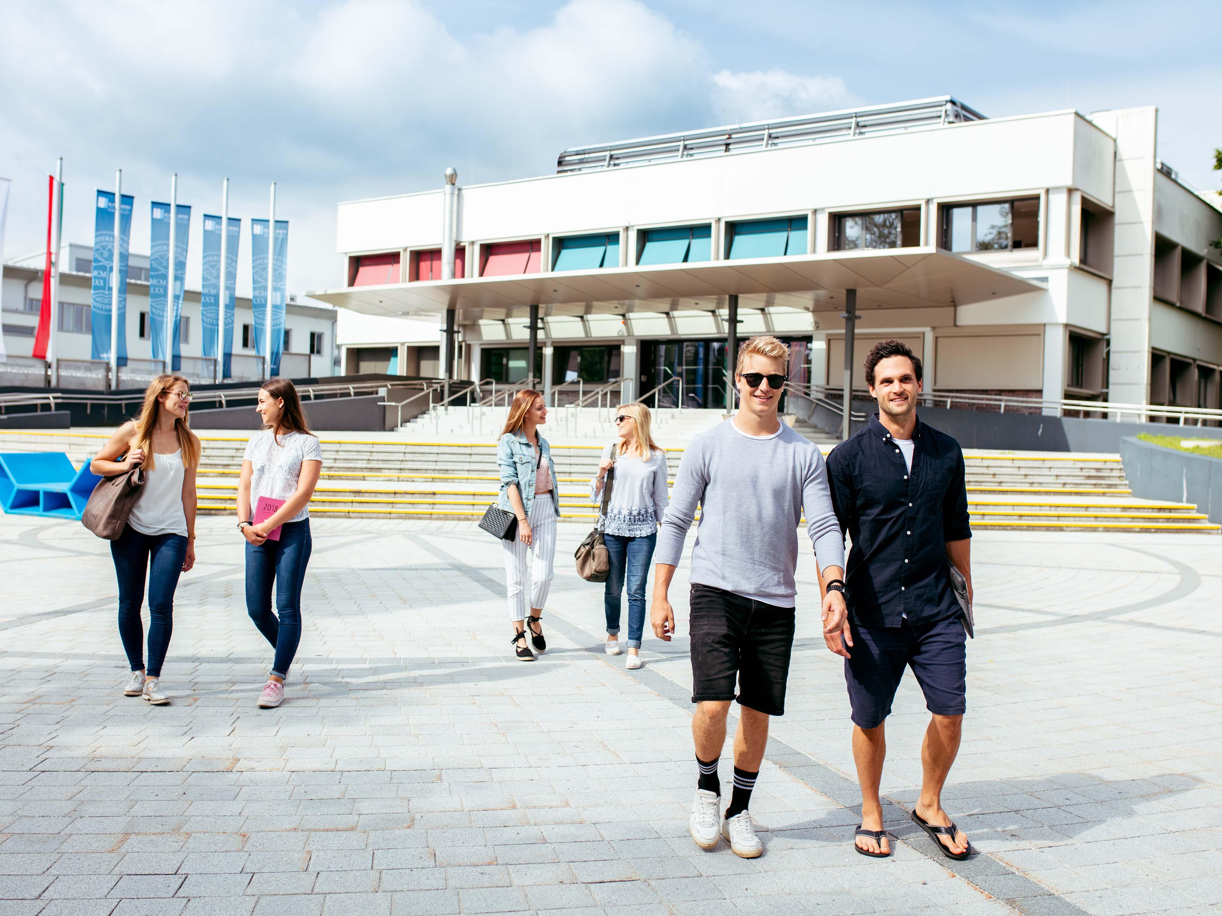 Main entrance University of Klagenfurt