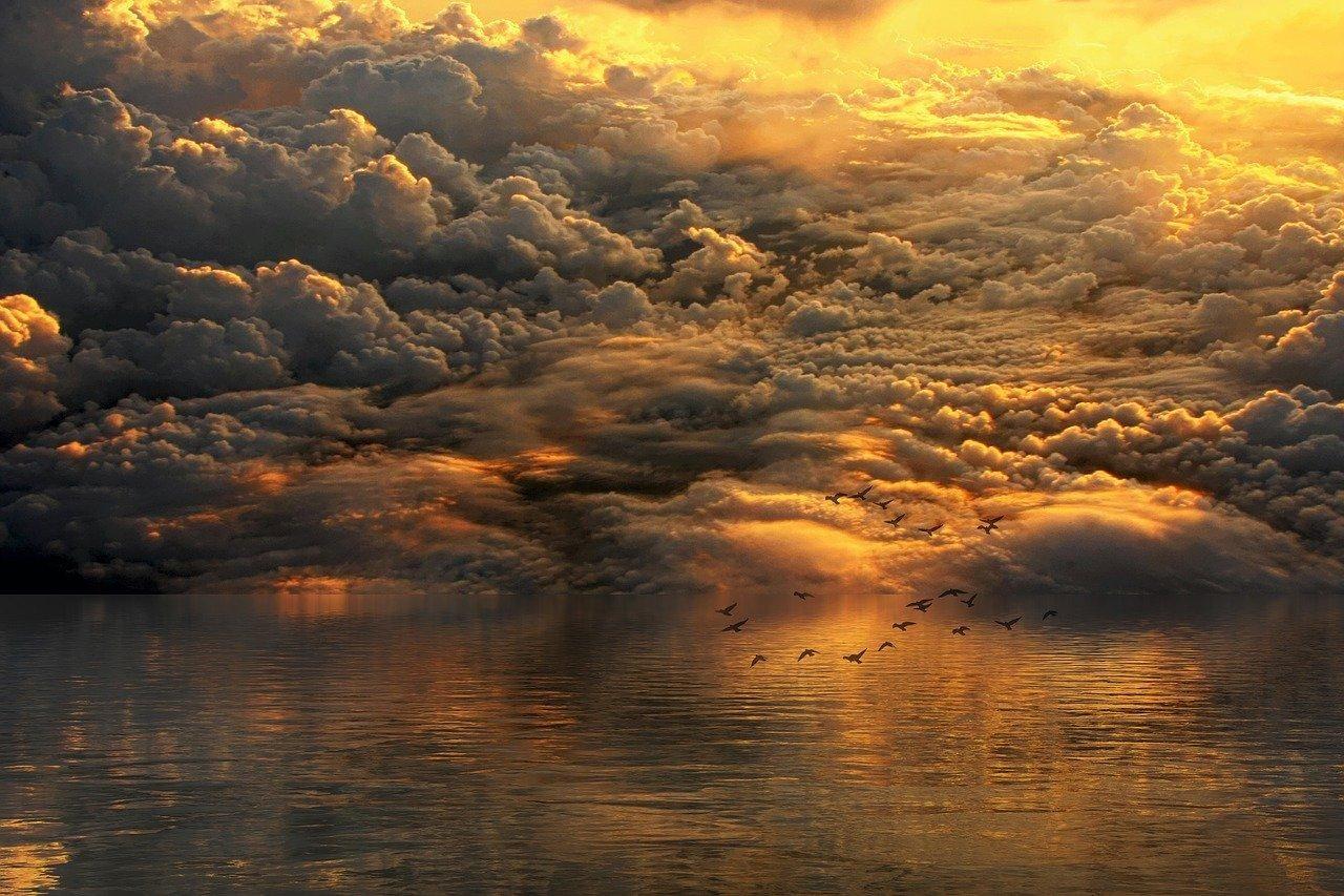 landscape, clouds, sky