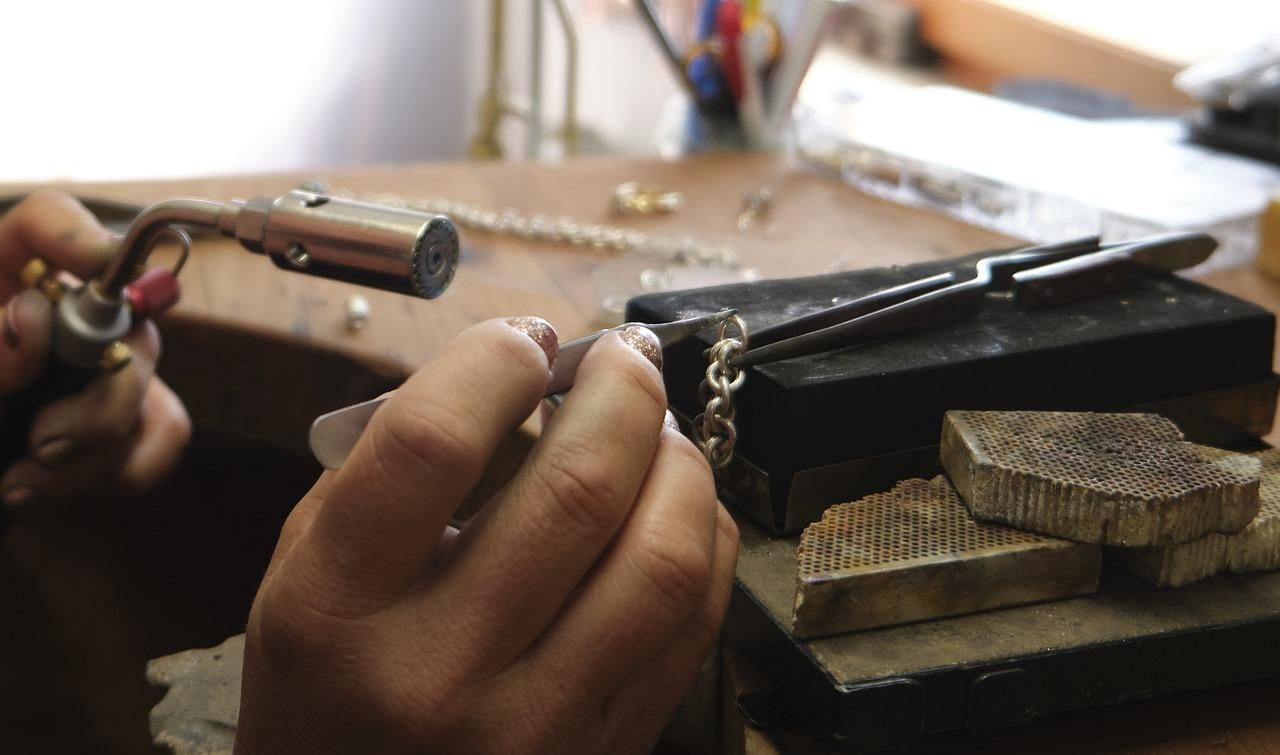 jewellery, solder, chain